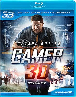 GAMER 3D BY BUTLER,GERARD (Blu-Ray)