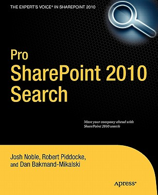 Pro Sharepoint 2010 Search By Noble, Josh